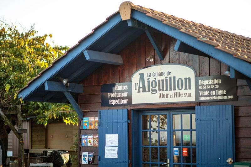 La Cabane de l'Aiguillon - dégustation d'huîtres située à Arcachon - Vente d'huîtres à emporter à la cabane et sur internet